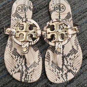 Tory Burch Miller Sandals 6.5